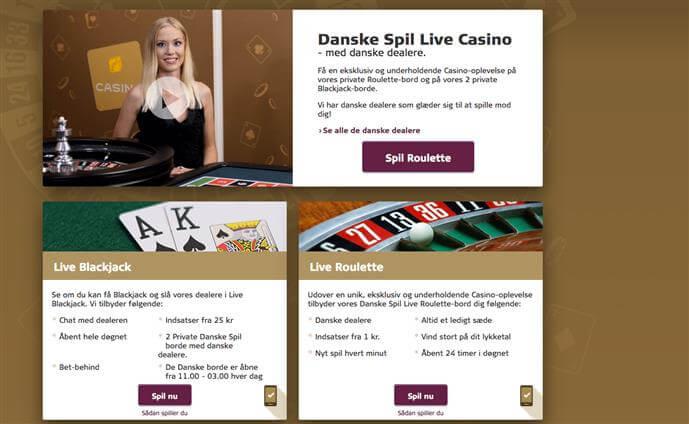 Danskespil Live Casino