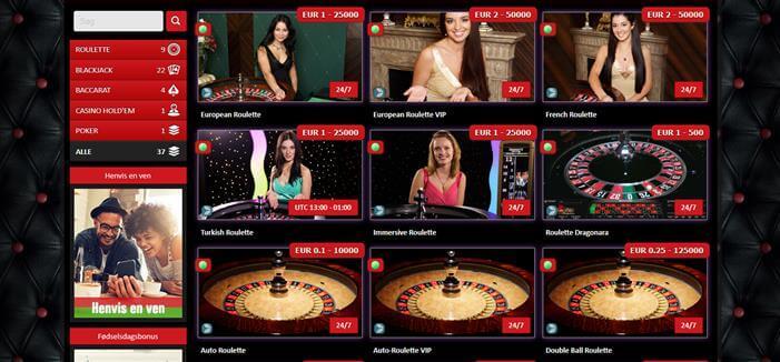 Live casino 777