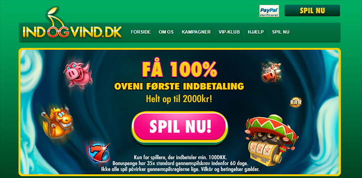 IndOgVind main page
