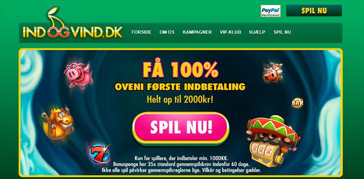 IndOgVind main page