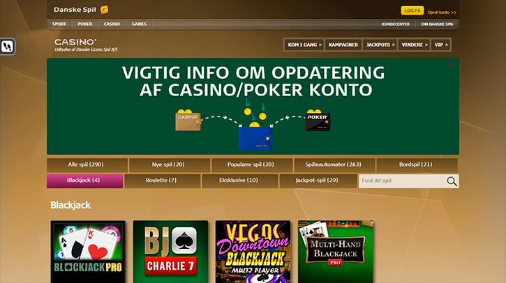 Danske Spil Blackjack