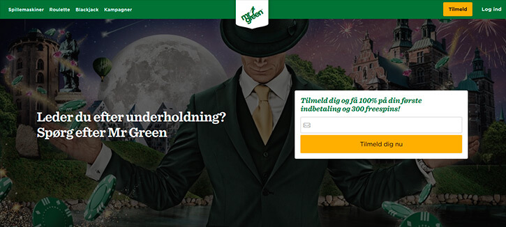Mrgreen main page