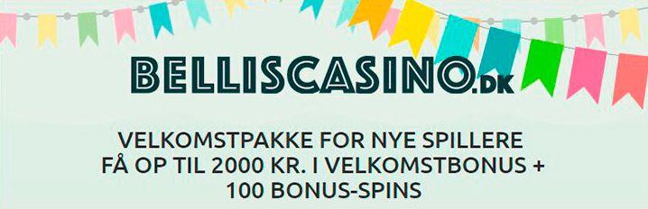 Belliscasino.dk bonus