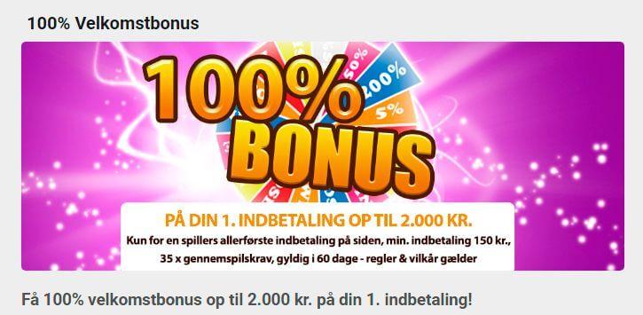 Bingoslottet bonus