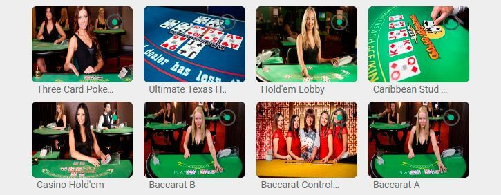 Bingoslottet live casino