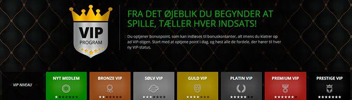 Casinoluck.dk VIP