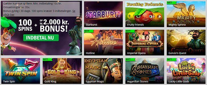 Casinosjov spilleautomater