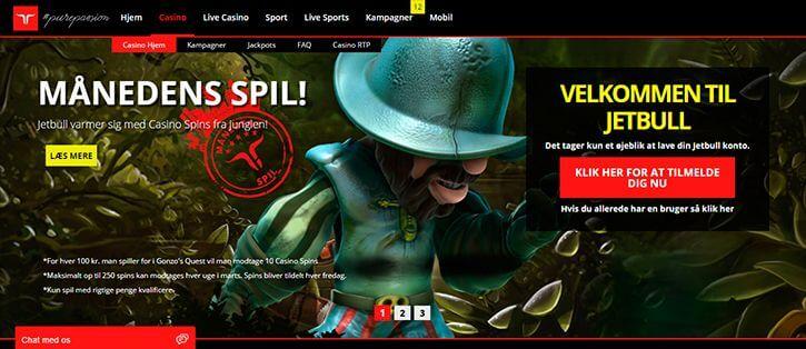 Jetbull main page