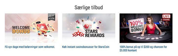 Pokerstars tilbud