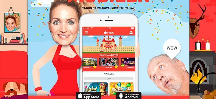 Rød25 mobil app