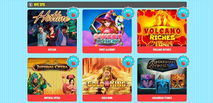 Vegas Casino spilleautomater